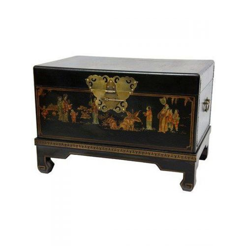 Handpainted wooden box with legs as a return gift
