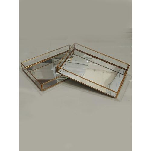 Rectangle Glass/Mirror Tray